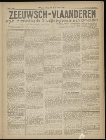 Luctor et Emergo. Antirevolutionair nieuws- en advertentieblad voor Zeeland / Zeeuwsch-Vlaanderen. Orgaan ter verspreiding van de christelijke beginselen in Zeeuwsch-Vlaanderen 1919-01-22