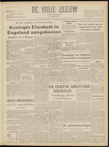 de Vrije Zeeuw 1952-02-08