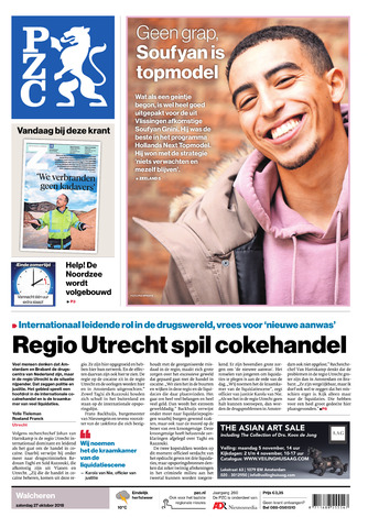 Provinciale Zeeuwse Courant 2018-10-27