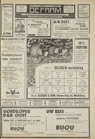 de Faam en de Faam/de Vlissinger 1960-07-15