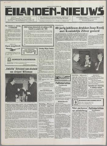 Eilanden-nieuws. Christelijk streekblad op gereformeerde grondslag 1985-11-26