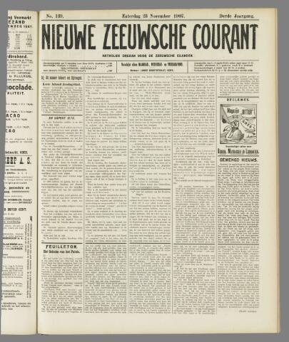 Nieuwe Zeeuwsche Courant 1907-11-23