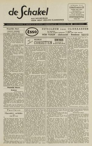 De Schakel 1958-08-29