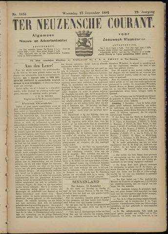 Ter Neuzensche Courant. Algemeen Nieuws- en Advertentieblad voor Zeeuwsch-Vlaanderen / Neuzensche Courant ... (idem) / (Algemeen) nieuws en advertentieblad voor Zeeuwsch-Vlaanderen 1882-12-13