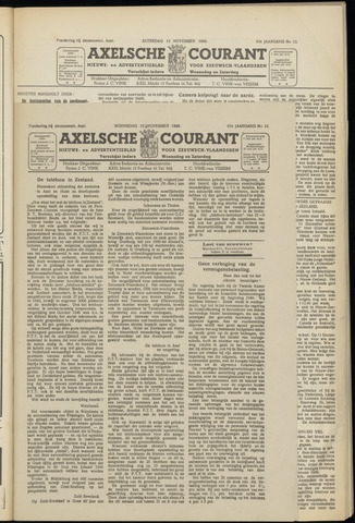 Axelsche Courant 1948-11-10