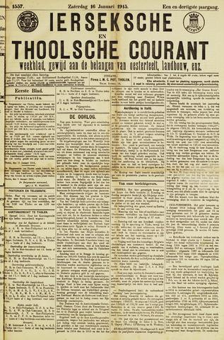 Ierseksche en Thoolsche Courant 1915-01-16