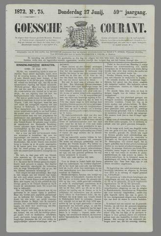 Goessche Courant 1872-06-27