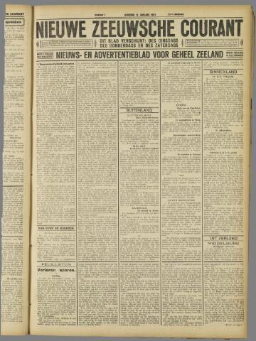 Nieuwe Zeeuwsche Courant 1927-01-18