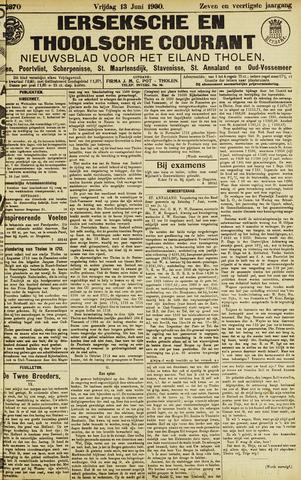 Ierseksche en Thoolsche Courant 1930-06-13