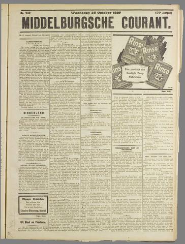 Middelburgsche Courant 1927-10-26