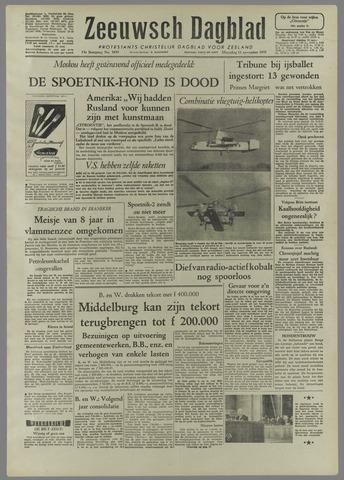 Zeeuwsch Dagblad 1957-11-11