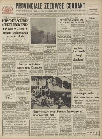Provinciale Zeeuwse Courant 1962-10-11