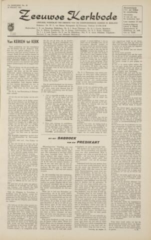Zeeuwsche kerkbode, weekblad gewijd aan de belangen der gereformeerde kerken/ Zeeuwsch kerkblad 1962-03-30