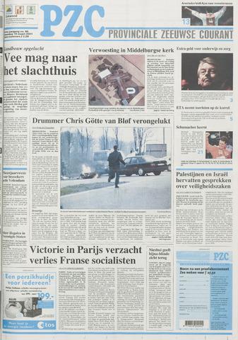 Provinciale Zeeuwse Courant 2001-03-19