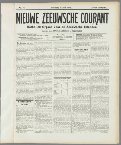 Nieuwe Zeeuwsche Courant 1905-07-01