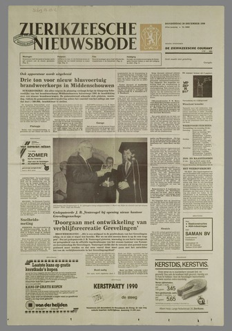 Zierikzeesche Nieuwsbode 1990-12-20