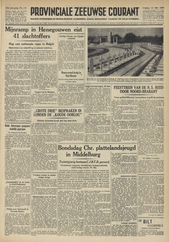 Provinciale Zeeuwse Courant 1950-05-12