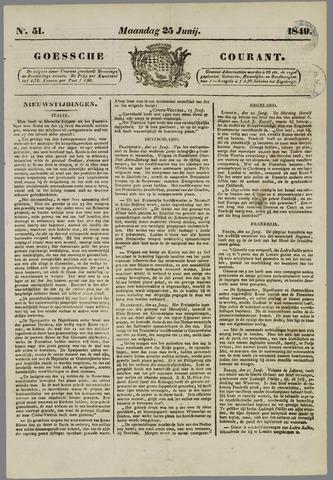 Goessche Courant 1849-06-25