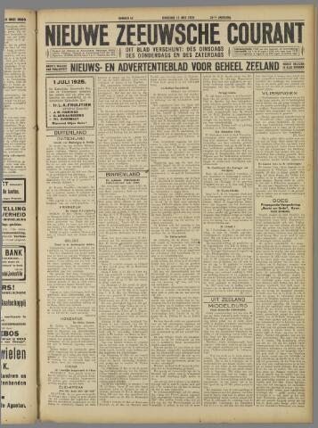 Nieuwe Zeeuwsche Courant 1925-05-12