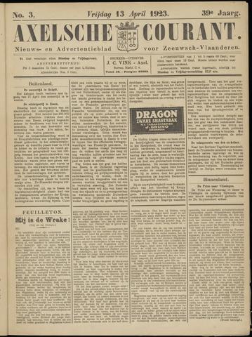 Axelsche Courant 1923-04-13