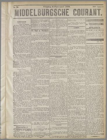 Middelburgsche Courant 1922-02-03