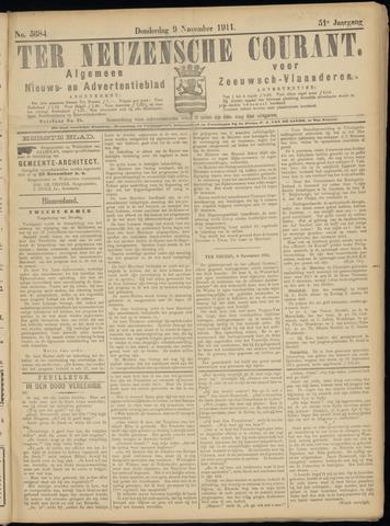 Ter Neuzensche Courant. Algemeen Nieuws- en Advertentieblad voor Zeeuwsch-Vlaanderen / Neuzensche Courant ... (idem) / (Algemeen) nieuws en advertentieblad voor Zeeuwsch-Vlaanderen 1911-11-09