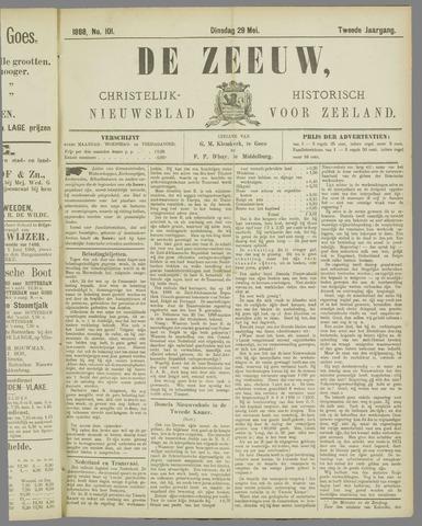 De Zeeuw. Christelijk-historisch nieuwsblad voor Zeeland 1888-05-29
