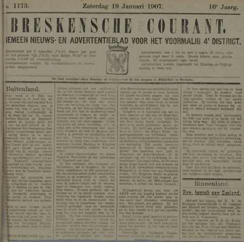 Breskensche Courant 1907-01-19