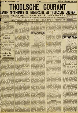 Ierseksche en Thoolsche Courant 1937-09-10