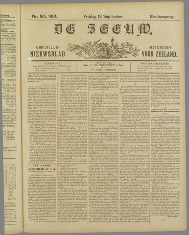 De Zeeuw. Christelijk-historisch nieuwsblad voor Zeeland 1901-09-13