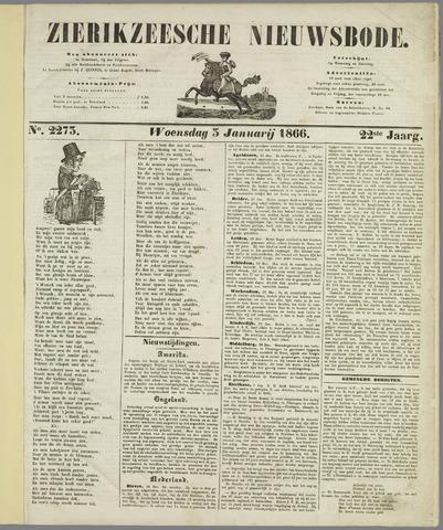 Zierikzeesche Nieuwsbode 1866