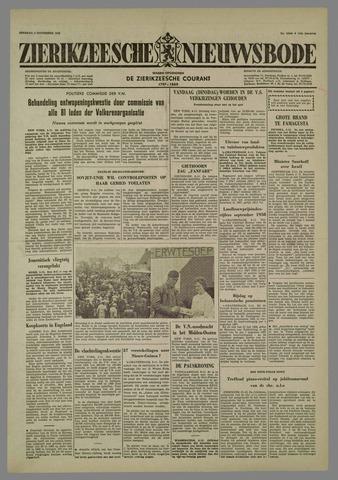 Zierikzeesche Nieuwsbode 1958-11-04