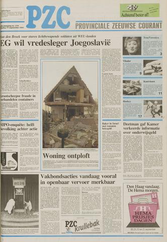 Provinciale Zeeuwse Courant 1991-09-17