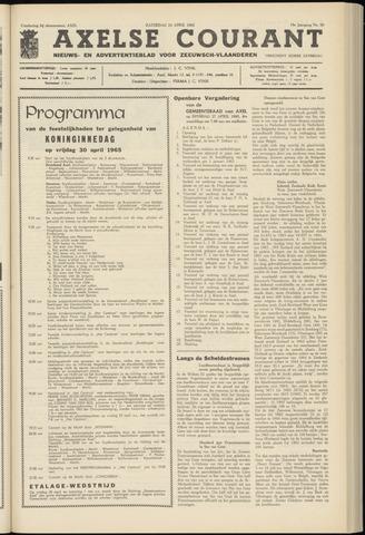 Axelsche Courant 1965-04-24