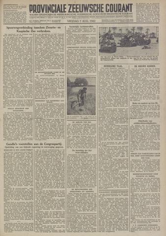 Provinciale Zeeuwse Courant 1942-08-07