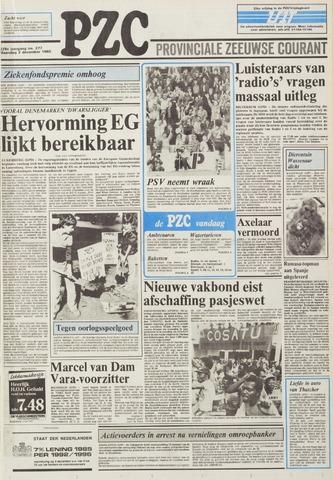 Provinciale Zeeuwse Courant 1985-12-02