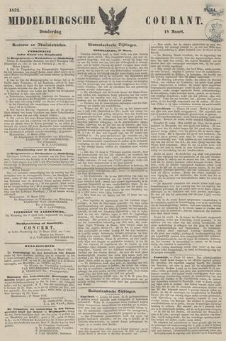 Middelburgsche Courant 1852-03-18