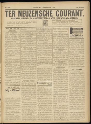 Ter Neuzensche Courant. Algemeen Nieuws- en Advertentieblad voor Zeeuwsch-Vlaanderen / Neuzensche Courant ... (idem) / (Algemeen) nieuws en advertentieblad voor Zeeuwsch-Vlaanderen 1933-08-07