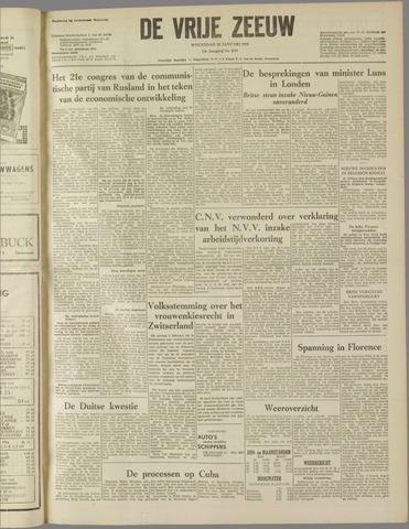 de Vrije Zeeuw 1959-01-28