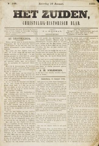 Het Zuiden, Christelijk-historisch blad 1880-01-24
