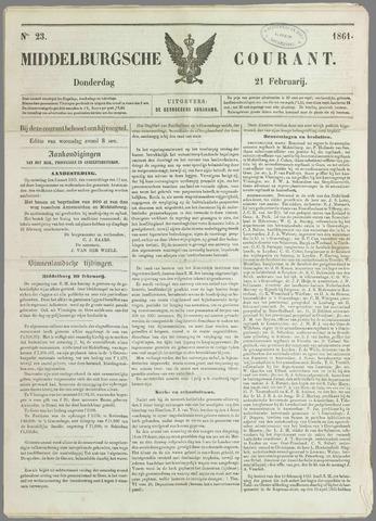 Middelburgsche Courant 1861-02-21