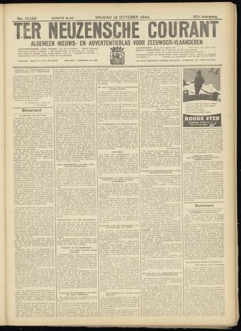 Ter Neuzensche Courant. Algemeen Nieuws- en Advertentieblad voor Zeeuwsch-Vlaanderen / Neuzensche Courant ... (idem) / (Algemeen) nieuws en advertentieblad voor Zeeuwsch-Vlaanderen 1940-10-18