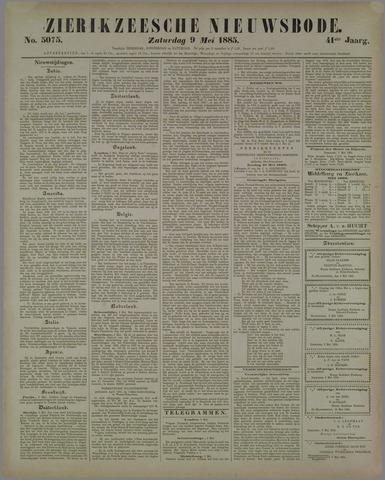 Zierikzeesche Nieuwsbode 1885-05-09