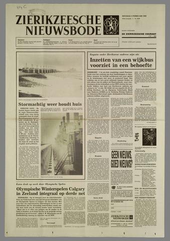 Zierikzeesche Nieuwsbode 1988-02-09