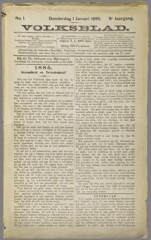 Volksblad 1885