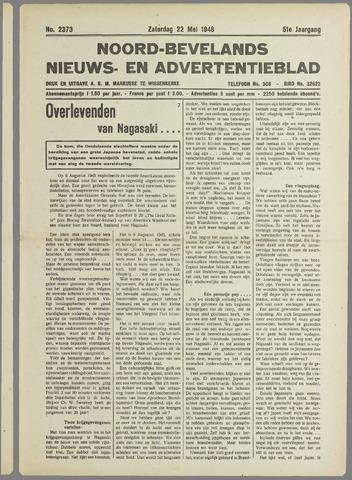 Noord-Bevelands Nieuws- en advertentieblad 1948-05-22