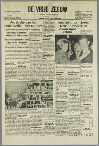 de Vrije Zeeuw 1967-11-20