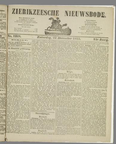 Zierikzeesche Nieuwsbode 1855-12-22