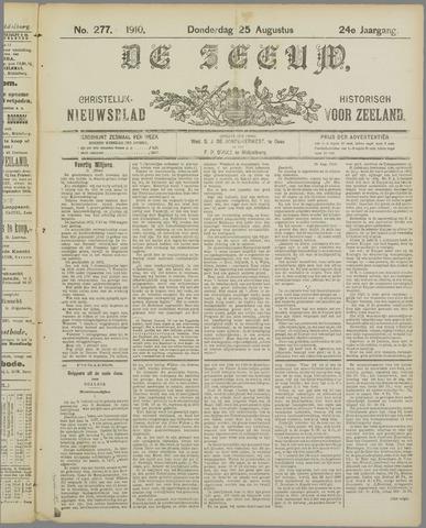 De Zeeuw. Christelijk-historisch nieuwsblad voor Zeeland 1910-08-25