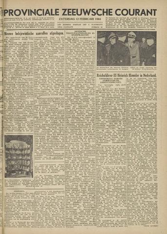 Provinciale Zeeuwse Courant 1944-02-12